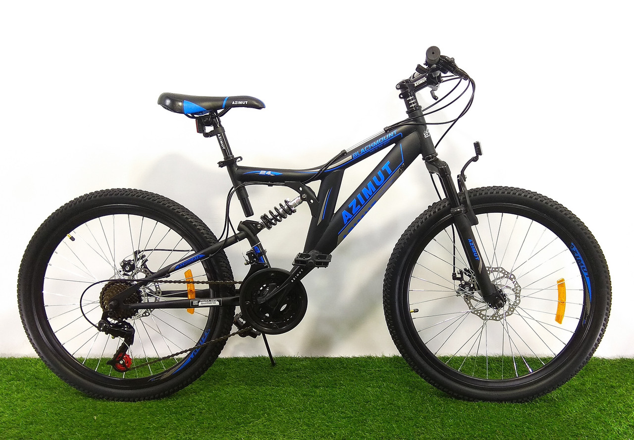 Горный велосипед Azimut Blackmount 24 D+ 2021