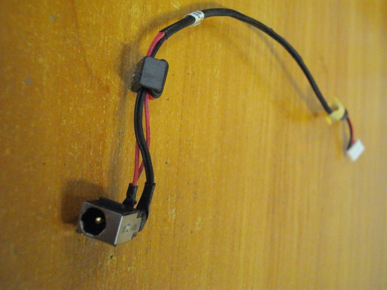 Разъем, гнездо питания Lenovo G565 G560 бу