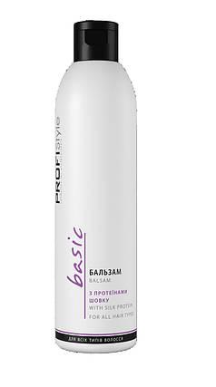 Бальзам PROFIStyle с протеином шелка для всех типов волос 250 мл, фото 2