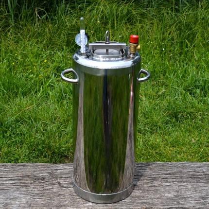 Автоклав бытовой ЛЮКС 28 огневой (сталь 2 мм/ 28 банок 0,5), фото 2