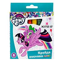 LP19-076 Мел восковый (8 цветов) Jumbo KITE 2019 My Little Pony 076