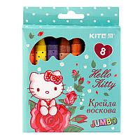 HK19-076 Мел восковый (8 цветов) Jumbo KITE 2019 Hello Kitty 076