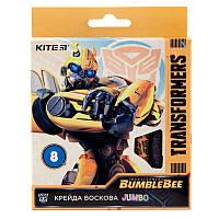 TF19-076 Мел восковый (8 цветов) Jumbo KITE 2019 Transformers 076