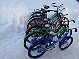 """Складной велосипед с багажником  """"СПУТНИК"""" 20"""" (красный), фото 9"""