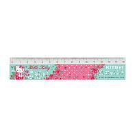 HK19-090 Линейка пластиковая 15 см KITE 2019 Hello Kitty 090