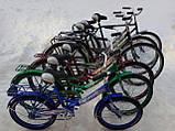 """Складаний велосипед з багажником """"СУПУТНИК"""" 20"""" (червоний), фото 8"""