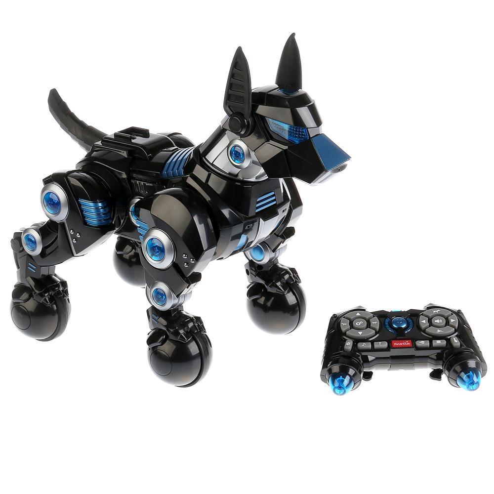 Интерактивная собака Доберман на пульте Большая