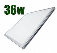 Світлодіодна панель LEDSTAR 36W, 595*595, 6000K, срібло, (LS-102969)