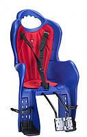 Велосипедное кресло детское Elibas T HTP design на раму (синий)