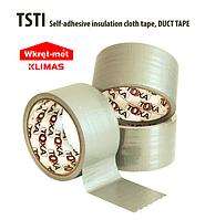 Скотч-лента армированная на тканевой основе самоклеящаяся серая 48 мм х 50 м. TSTI  Wkret-Met