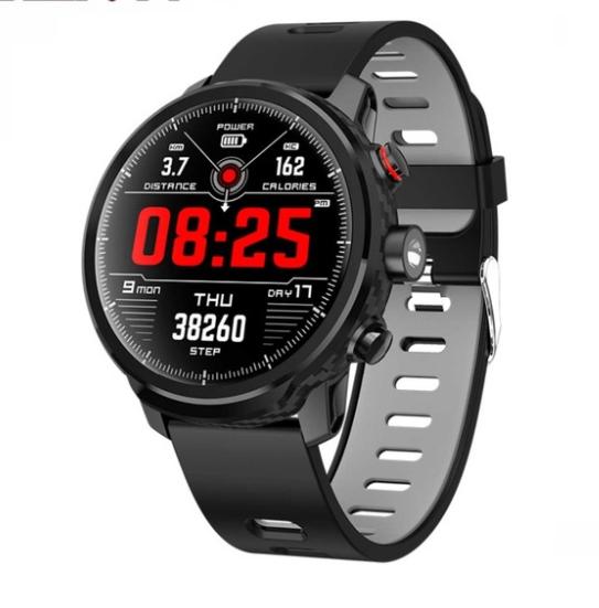 Спортивні смарт годинник Slimy L5 - IP68, для бігу, прогулянок, велосипеда, ходьби, плавання