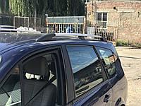 Renault Scenic 2003-2009 Рейлинги Хром (короткая база)