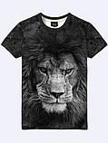 Мужская футболка 3D с ярким принтом тм Vilno, фото 2
