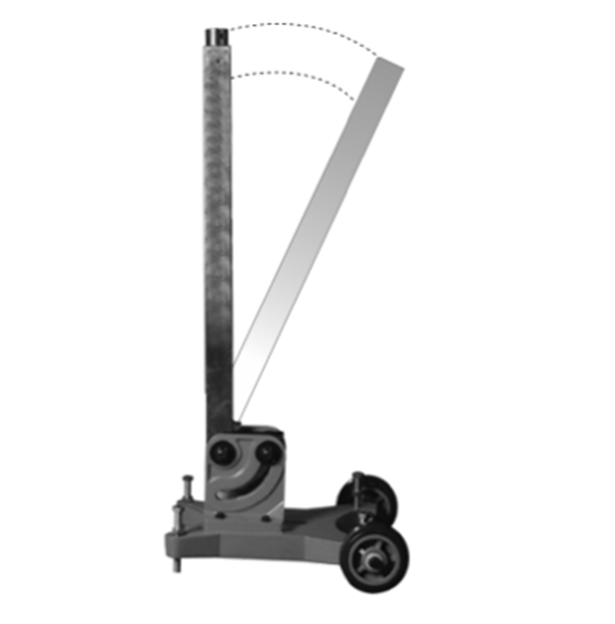 Наклонная стойка для привода алмазной дрели Титан NS111