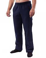 Мужские флисовые синие штаны (в размере L, 3XL)