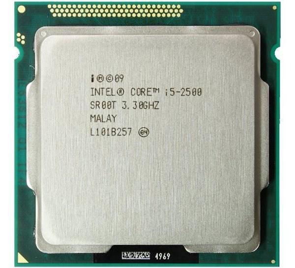 Процессор, Intel Core i5-2500 6 МБ кэш-памяти, тактовая частота до 3,70 ГГц