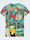 Мужская футболка 3D с ярким принтом тм Vilno, фото 5