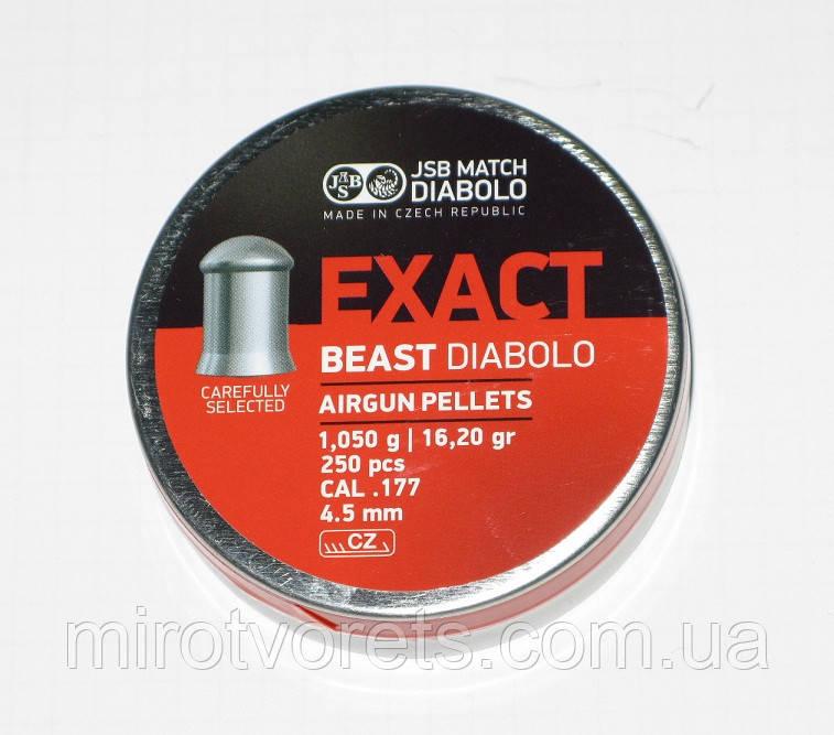 Пули JSB EXACT 1,05 гр