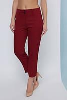Женские брюки короткие - капри прямые в классическом стиле