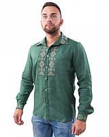 Вышитая мужская рубашка (в размере M - 3XL)
