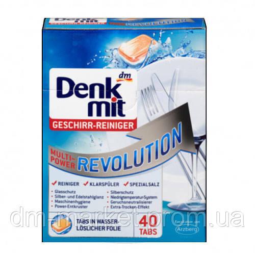 Таблетки для посудомоечных машин Denkmit Multi-Power Revolution, 40 шт