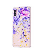 Чехол Beauty Flowers Confetti Samsung M20 2019