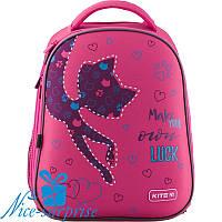 Рюкзак для девочки с ортопедической спинкой Kite Catsline K19-731M-1, фото 1