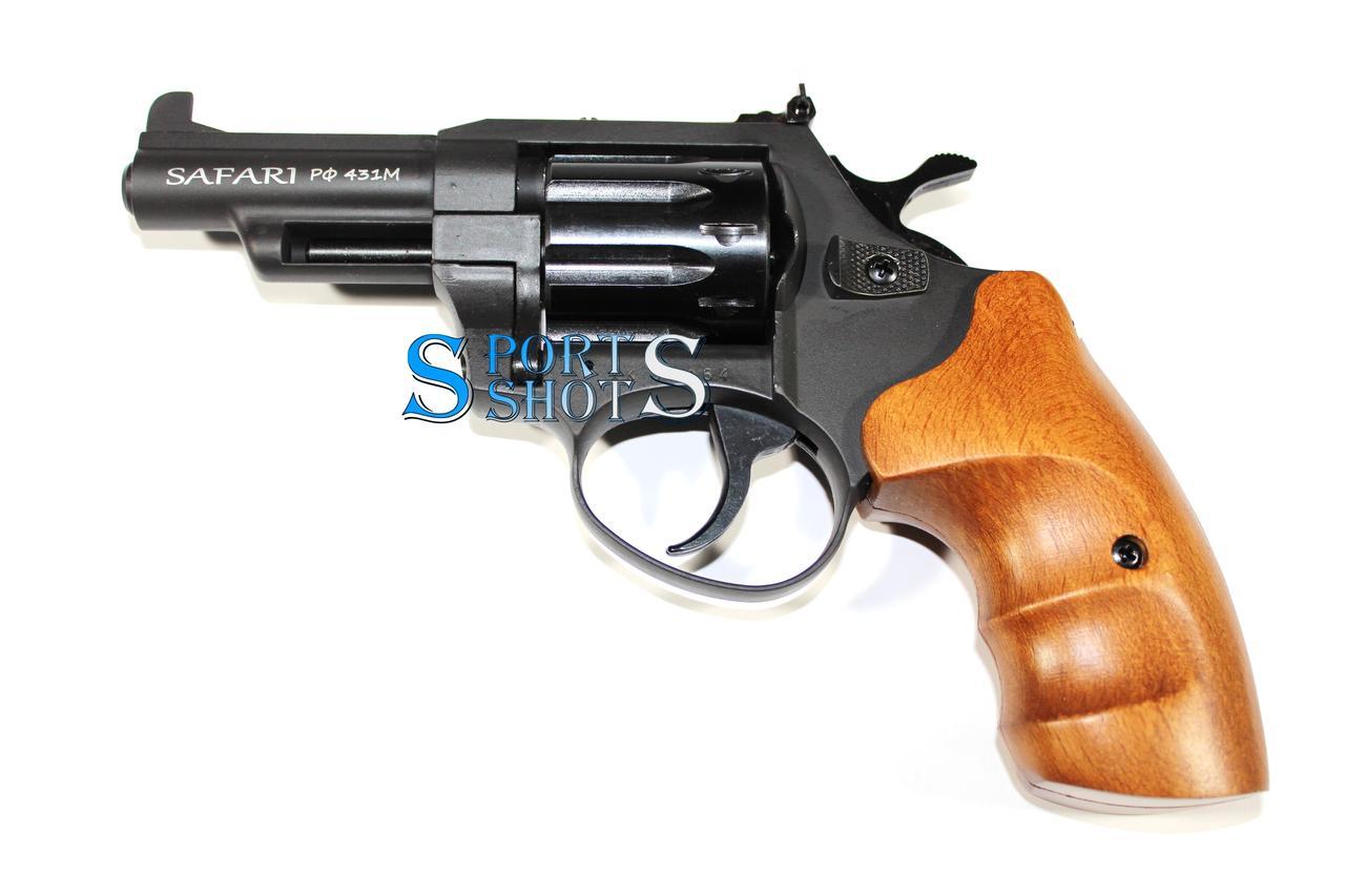 Револьвер под патрон флобера Safari РФ - 431 М бук
