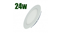 Светодиодный светильник LEDSTAR встроенный круг 24W-220V-6500К-1680lm (LS-102940)