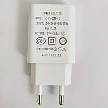 Зарядное устройство MEIZU Travel Adapter + кабель micro USB, 2.1A, в коробке, зарядка мейзу шнур микро юсб, фото 3
