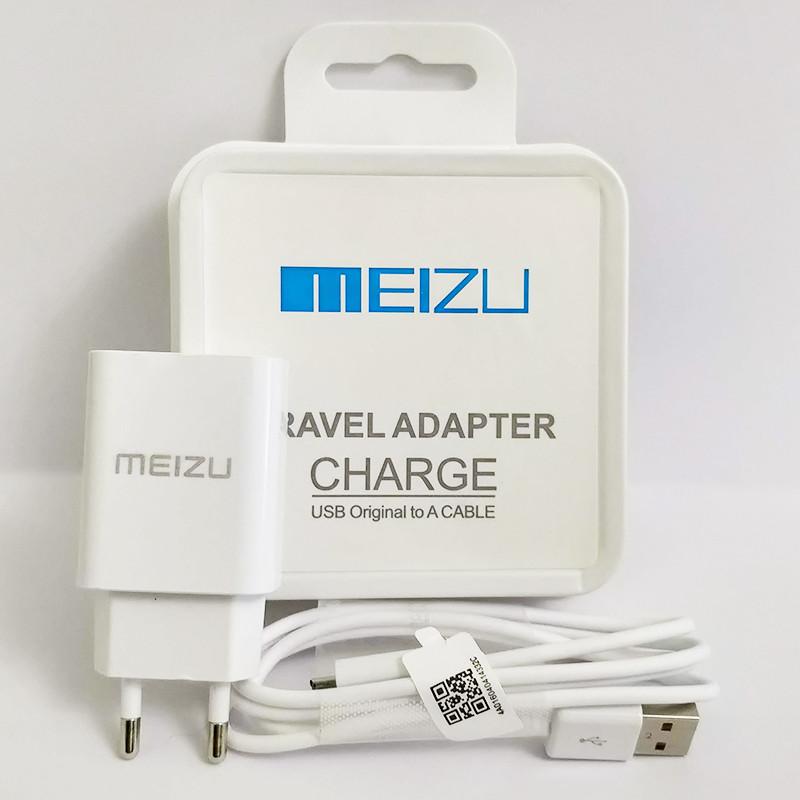 Зарядное устройство MEIZU Travel Adapter + кабель micro USB, 2.1A, в коробке, зарядка мейзу шнур микро юсб