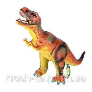 Динозавр резиновый муз.24см Китай SX6819-2