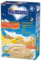 """Детская каша """"Сладкие сны"""" молочная с бананом от 6 мес Humana Германия 77559"""