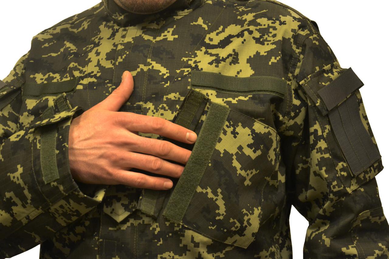 Китель Американская военная форма — реплика, пиксель Пограничник