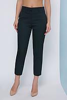 Укороченные женские брюки - капри прямые в классическом стиле