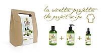 Подарочный набор для волос Dott. Solari Olea Green Dolce Hemp на основе масел конопли и ежевики, фото 1