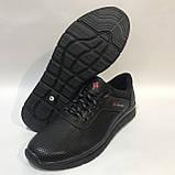 46 р. Мужские кроссовки кожаные (Большие размеры) летние с перфорацией Последняя пара, фото 5
