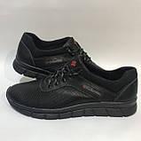 46 р. Мужские кроссовки кожаные (Большие размеры) летние с перфорацией Последняя пара, фото 6