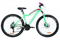 """Женский горный велосипед  OPTIMABIKES AL ALPINA AM DD 27.5""""(мятный с малиновым), фото 1"""