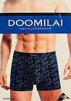 Трусы мужские боксёры хлопок + бамбук DOOMILAI размер XL-4XL(48-54)  01110