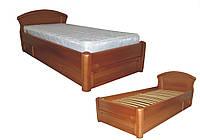 Деревянная кровать Фиона с ящиком односпальная Делфис