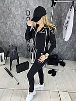 ⭐ Женский черный спортивный комбинезон | Жіночий чорний спортивний комбінезон (репліка)