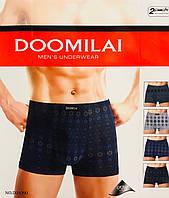 Трусы мужские боксёры хлопок DOOMILAI размер XL-4XL(48-54)  01090