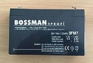 Аккум. для детских эл.мобилей Bossman-Profi 3FM7, фото 2