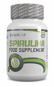 Спирулина Biotech Spirulina 100 tabs