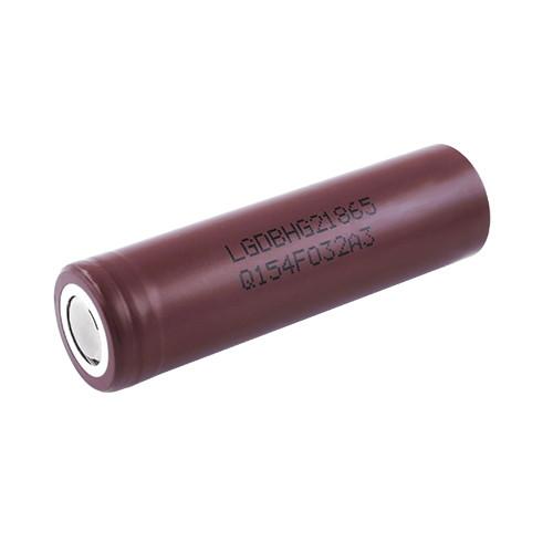 Аккумулятор 18650, LG HG2, 3000mAh, 3.7V, высокотоковый, оригинал