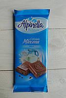Alpinella альпинелла молочный шоколад 90 гр Польша