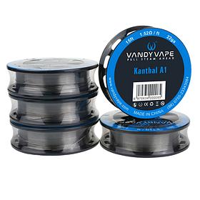 Проволока Vandy Vape Resistance Wire Kanthal A1 Original (22GA, 24GA, 26GA, 28GA)