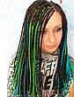 Канекалон (неоново-зелёный) 65*130 см, фото 6