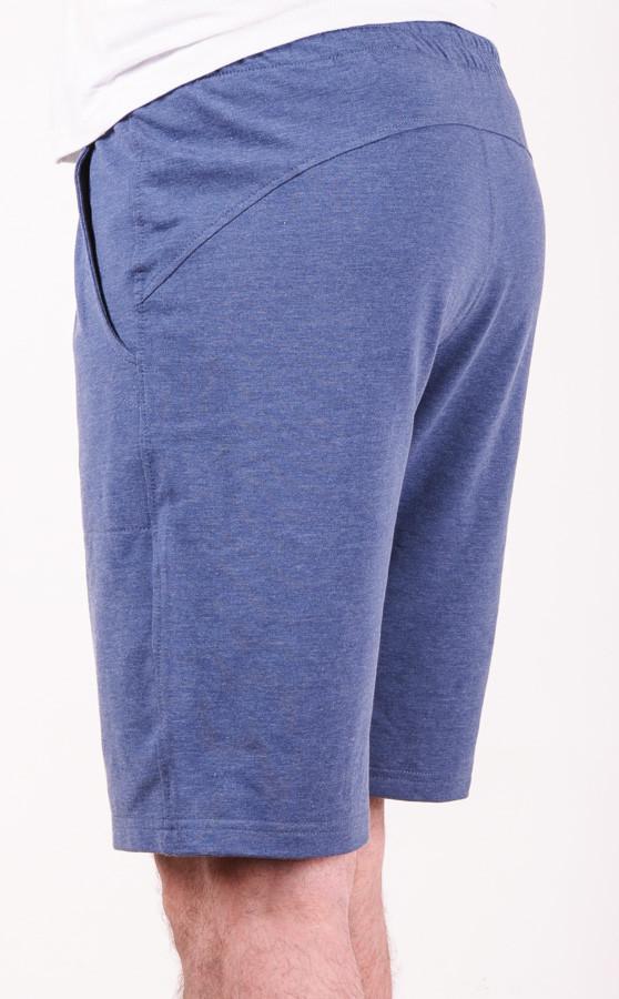 Шорты мужские трикотажные синие размеры 48-52